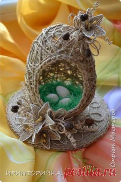 Идея шпагатного яйца