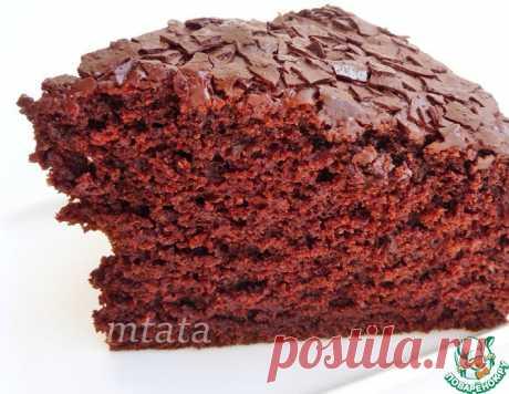 Шоколадный пирог без яиц – кулинарный рецепт
