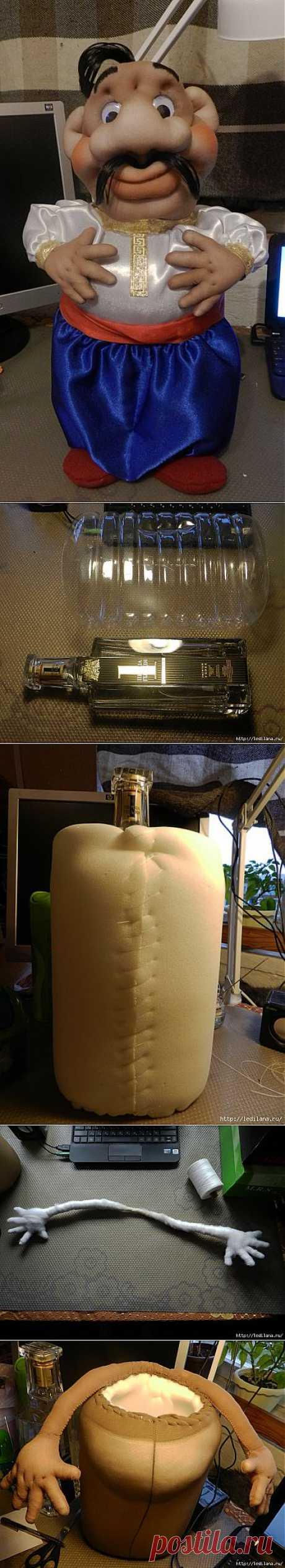 "Мини-бар ""Хохол"". Заначка для бутылки."