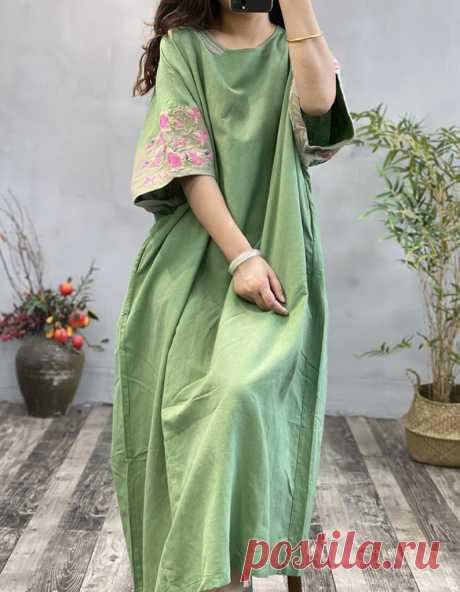 Linen long robe Oversized dress summer Maxi dress linen | Etsy