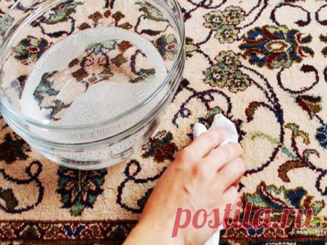 Как почистить ковер с помощью уксуса и пищевой соды - результат потрясающий  Ковер – это неотделимая часть комнатного декора и нашего комфорта. Как он красиво смотрится, и как приятно играть на нем деткам, если бы не одно «но» - грязь. Мы расскажем вам, как почистить ковер легко и быстро, а главное - эффективно.  Секреты приготовления пасты  Раскрываем секреты приготовления чудо-пасты. Вам понадобится треть стакана уксуса, 1 ст. ложка пищевой соды, столько же стирального п...