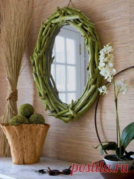 20 effective ideas as to make a highlight of any interior of a usual mirror