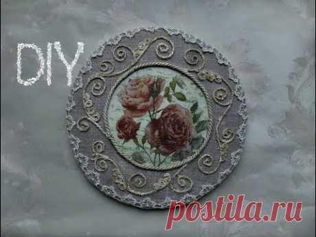 Панно с розами\Мастер-класс
