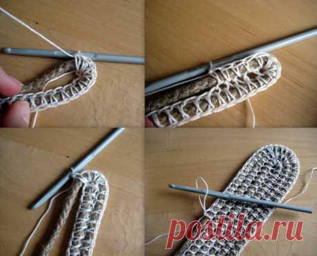 Корзина крючком из верёвки для рукоделия  Вот такую корзинку для рукоделия сплетённую крючком нашла на просторах интернета.Перевод компьютерный Но в принципе понять можно. Корзина крючком из верёвки для рукоделия        Вам понадобится:  Дли…