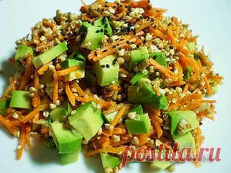 Гречка с овощами по-сыроедчески - Моя живая еда