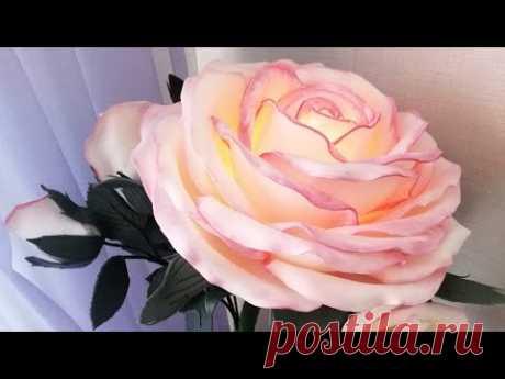 Торшер роза из изолона мк бесплатно