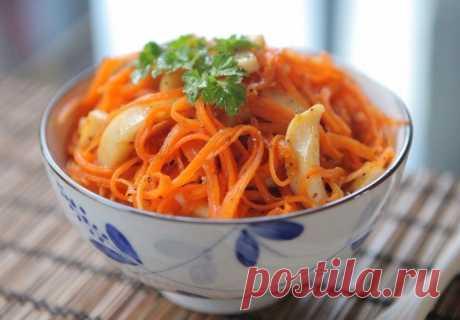 Рецепты низкокалорийных салатов с морковью