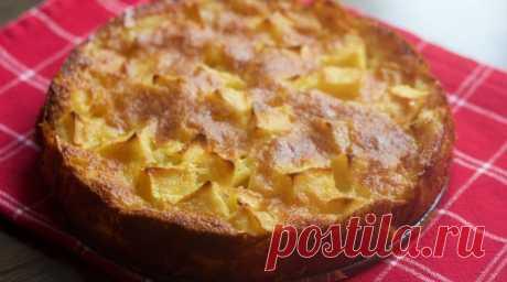 Итальянский яблочный пирог обалденный рецепт   panacota
