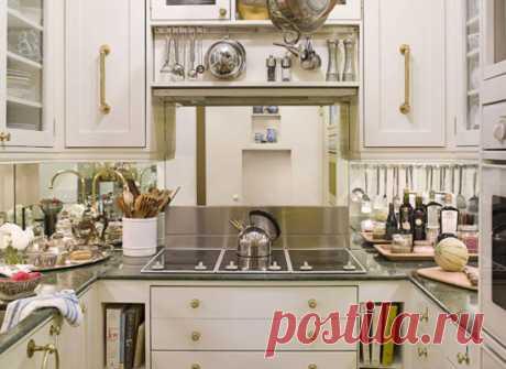 8 хитростей, которые сделают маленькую кухню удобнее | Краше Всех