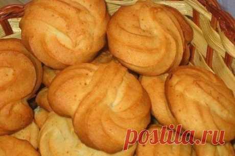 Рассыпчатое, мягкое медовое печенье / Здоровый аппетит