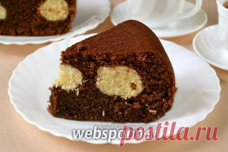 Шоколадный манник в мультиварке рецепт с фото на Webspoon.ru