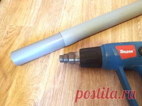 Соединяем обрезки ПВХ-труб за 2 мин. Инструменты не обязательны | Мастер-Ок | Яндекс Дзен