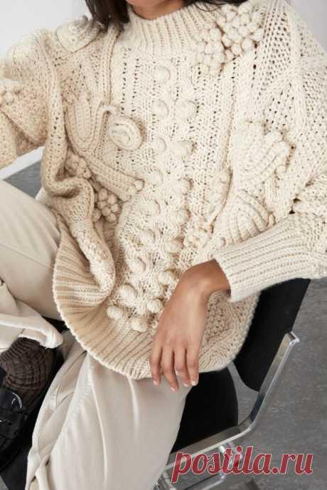 Вязаный свитер это скучный балахон? Развеиваем миф. Идеи для вдохновения!   Вяжем, лепим, творим, малюем)   Яндекс Дзен