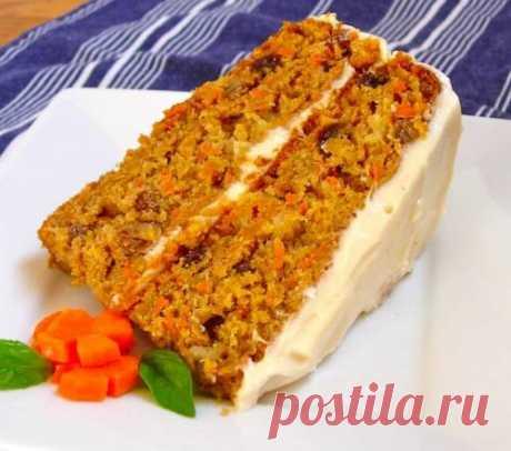 Морковный торт / Простые рецепты