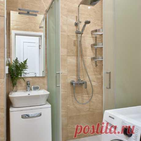 Ванная комната - Современный - Ванная комната - Москва - от эксперта Анастасия Яковлева