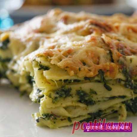 Ispanaklı Lazanya Tarifi - Yemek Kulübüm