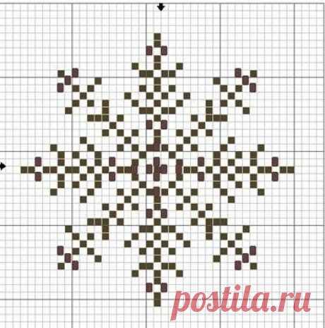 Схема снежинки 10, фото, изображение. Штучки ручной работы созданные своими руками | Рукоделие на Ручном