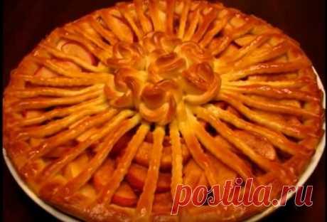 Пирог яблочный ― подробный рецепт приготовления пирога с яблоками - Копилка идей