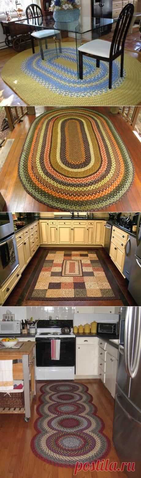 Плетеные коврики | Дом Мечты