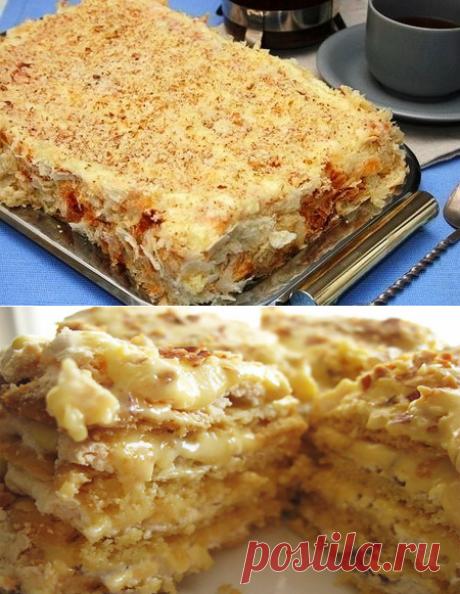 Торт королей: готовится легко, а съедается еще легче