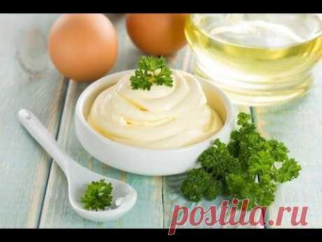 Самый ЛУЧШИЙ РЕЦЕПТ домашнего МАЙОНЕЗА. 100% РЕЗУЛЬТАТ!!! Вкус из детства! Home-made mayonnaise.