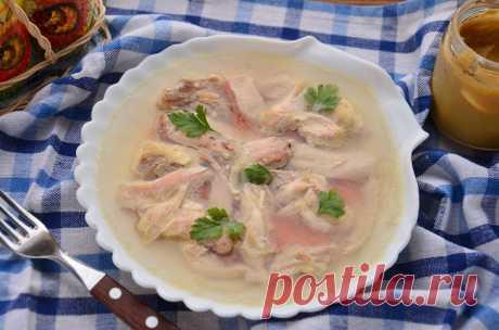 Заливное из курицы - отличное блюдо для праздничного стола: рецепт с фото пошагово