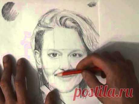 Основы рисования. Пропорции лица. - YouTube