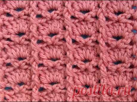 Узор вязания крючком 9 Crochet pattern