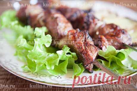 Шашлык из свинины по-грузински – рецепт приготовления с фото от Kulina.Ru
