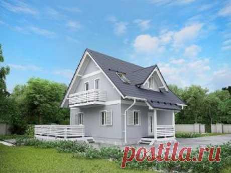 Общая площадь дома 140,86 м2