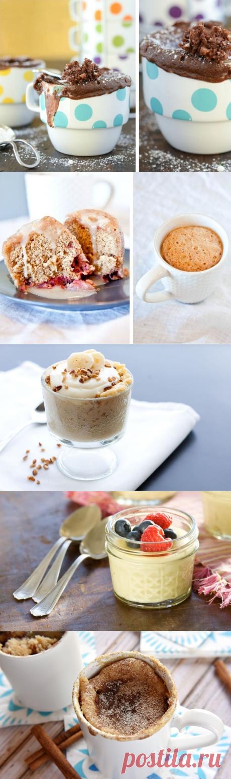 Простые и вкусные десерты в чашке | Делимся советами