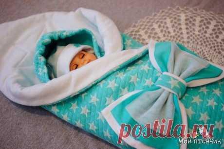 Конверт на выписку для новорожденных (Шитье и крой) – Журнал Вдохновение Рукодельницы