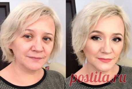 Как правильно красить глаза женщинам 45+ | Краше Всех