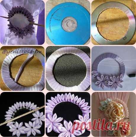 Красивые и полезные вещи из компакт-дисков   Самоделкино