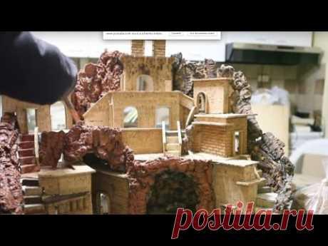 Costruire un presepe in sughero 2 - Tutorial