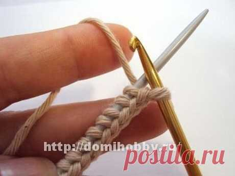 Set of loops braid (Lessons and MK of KNITTING) | Inspiration of the Needlewoman Magazine