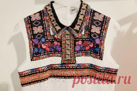 Переделка блузки Модная одежда и дизайн интерьера своими руками