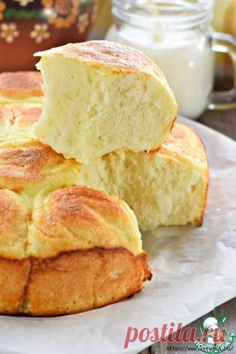 Воздушный заливной хлеб в духовке!