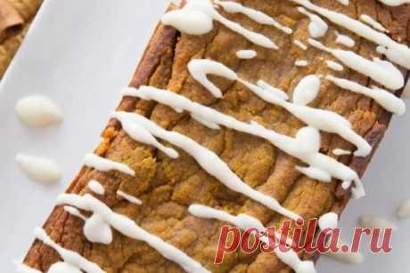 Рецепт тыквенного кето хлеба (с расчётом КБЖУ)