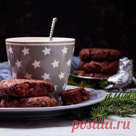 Daria Saveleva | Мягкое шоколадное печенье с ржаной мукой - Daria Saveleva