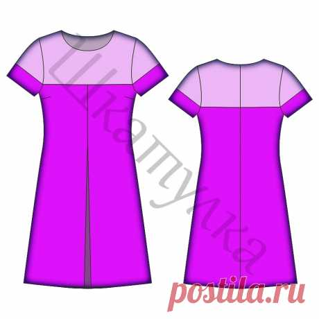 Выкройка современного женского платья фото 724