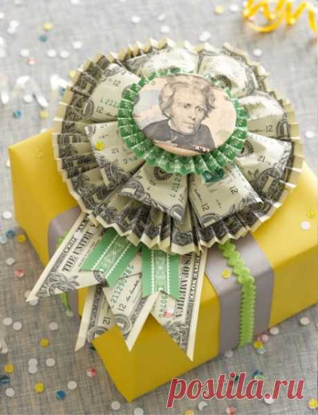 Идеи денежных подарков: 27 креативных идей денежных подарков на любой случай