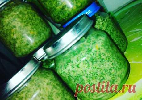 Укропный соус на зиму🥦#заготовки - пошаговый рецепт с фото. Автор рецепта Анастасия . - Cookpad