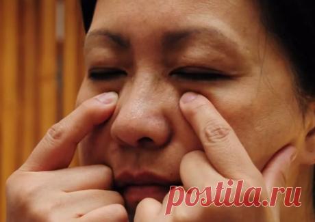 Китайское минутное упражнение против дряблости мышц на лице. Помолодела на 5 лет | Красота с похуделкой в 30,50,60 | Яндекс Дзен
