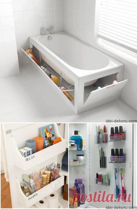15 ідей для ідеального порядку у ванній кімнаті   Ідеї декору