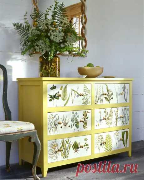 Блестящие идеи, которые помогут обновить старую мебель и здорово сэкономить на покупке новой - Самоделкино - медиаплатформа МирТесен