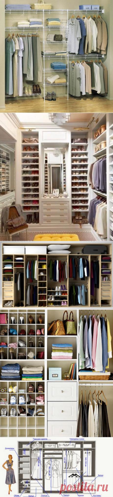 Самый удобный шкаф для вашей семьи. Как спроектировать? | Сияние Жизни