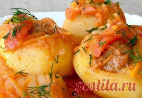 Вырезали в картошке середину и заполнили начинкой: сочный ужин из простых продуктов - Steak Lovers - медиаплатформа МирТесен