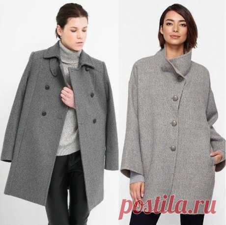 Шьём пальто-кокон — Сделай сам, идеи для творчества - DIY Ideas
