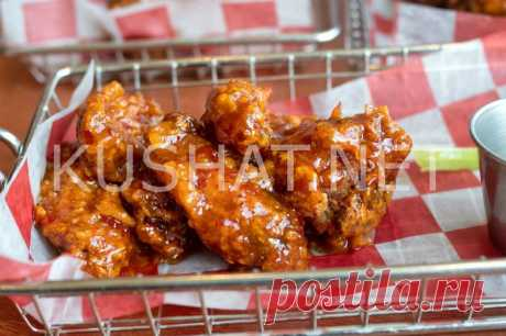 Куриные крылышки в кисло-сладком соусе. Рецепт с фото • Кушать нет